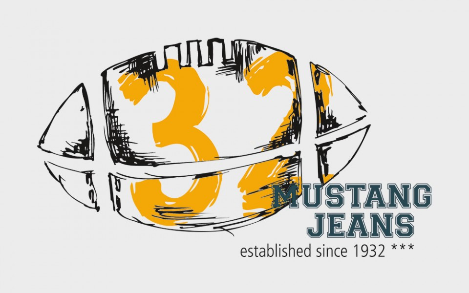 """Mustang Jeans<br /><small class=""""pr_small"""">T-Shirt prints</small>"""