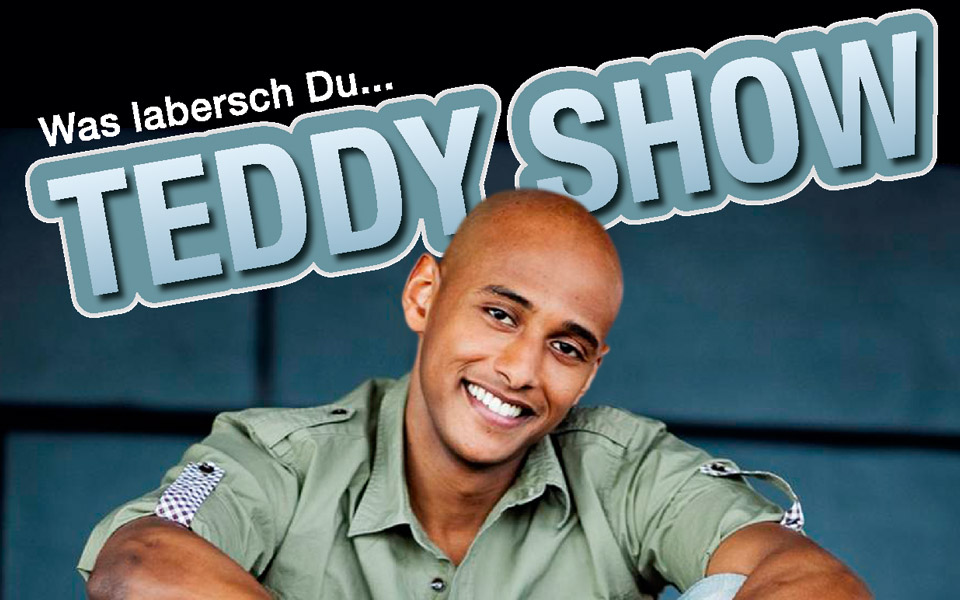 "Teddy Show<br /><small class=""pr_small"">Plakat & Flyergestaltung</small>"