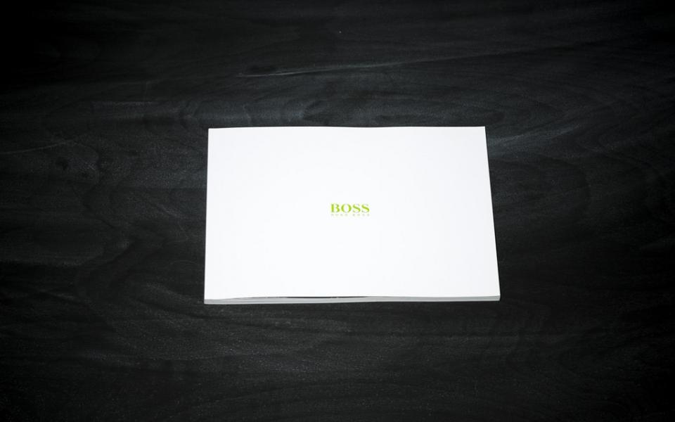 """Hugo Boss<br /><small class=""""pr_small"""">Collection Guideline Menswear Winter 12</small>"""