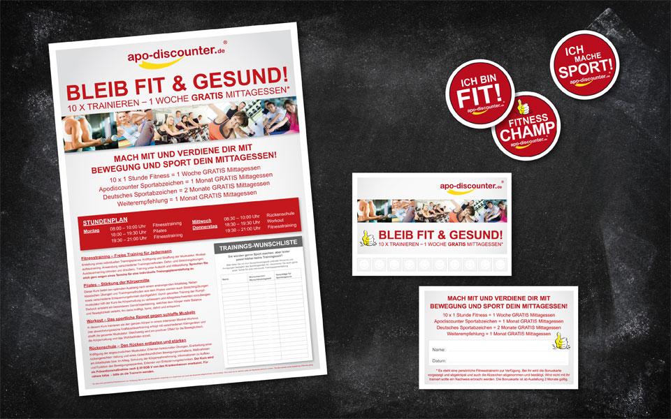 Firmen-Fitness-Aktion