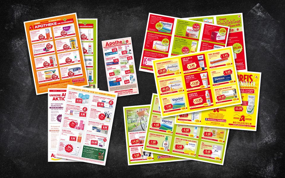 Apothekenwerbung – Angebote und Aktionen
