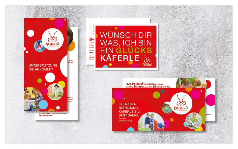 Diverse Printaufträge für Käferle Kleinkindbetreuung