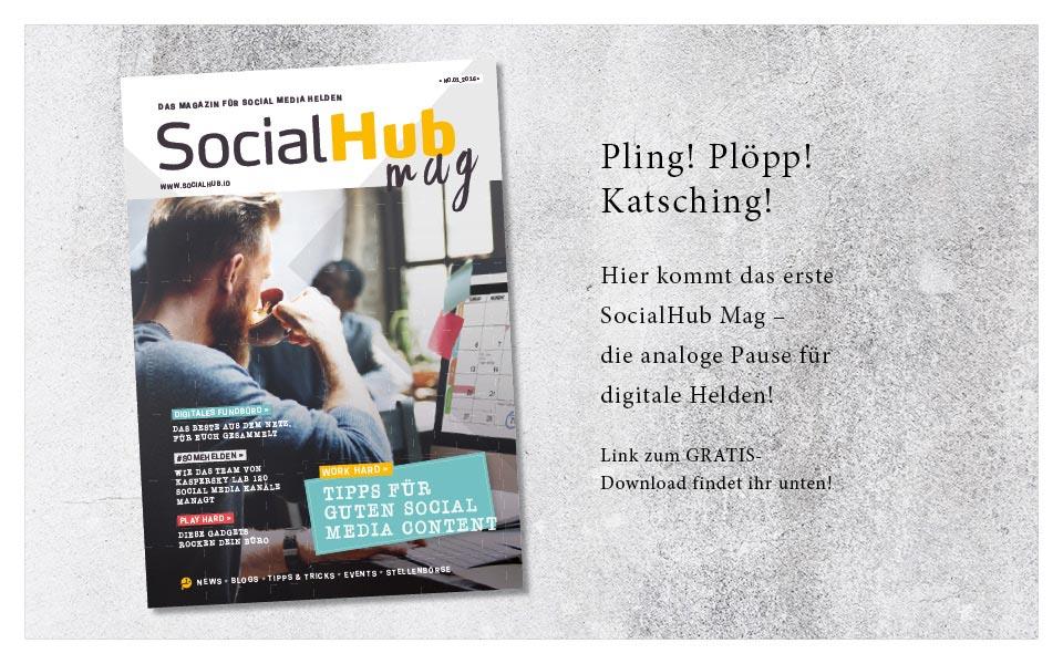 Magazin SocialHub Mag NO.01