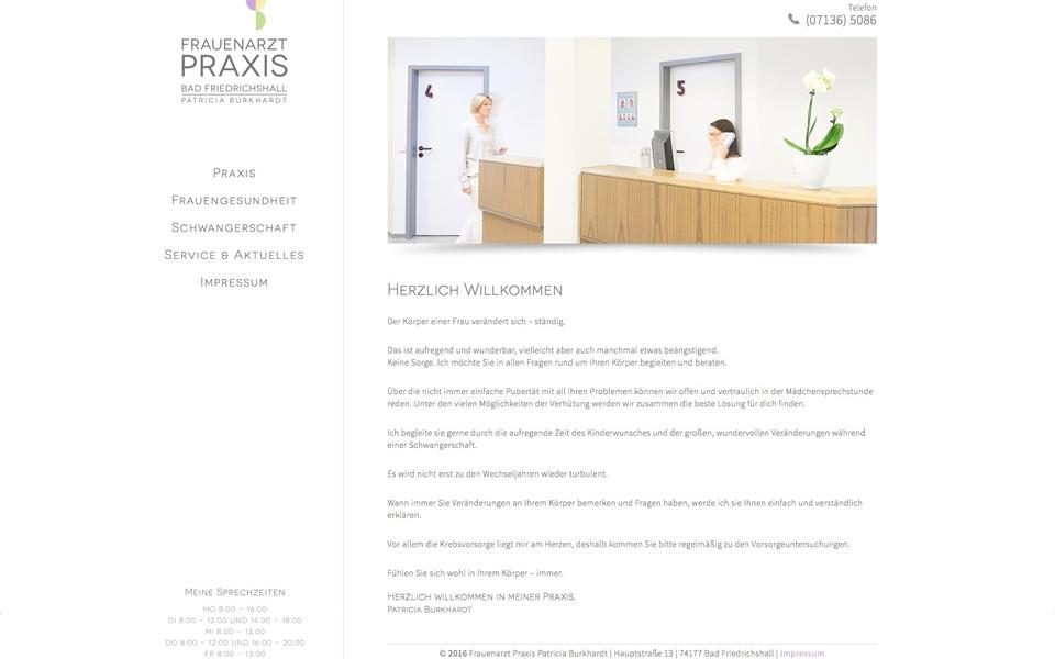 Frauenarztpraxis Patricia Burkhardt